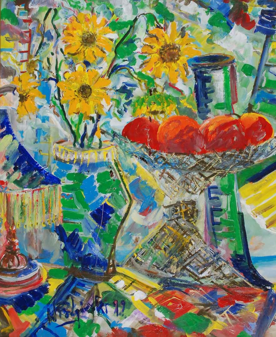 Martwa natura z kwiatami, 1999