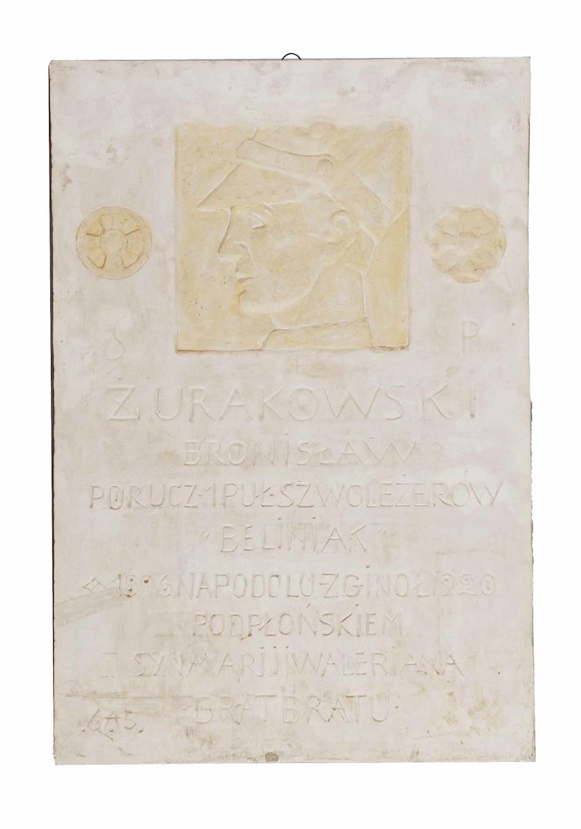 Żurakowski Bronisław - Brat bratu - płaskorzeźba