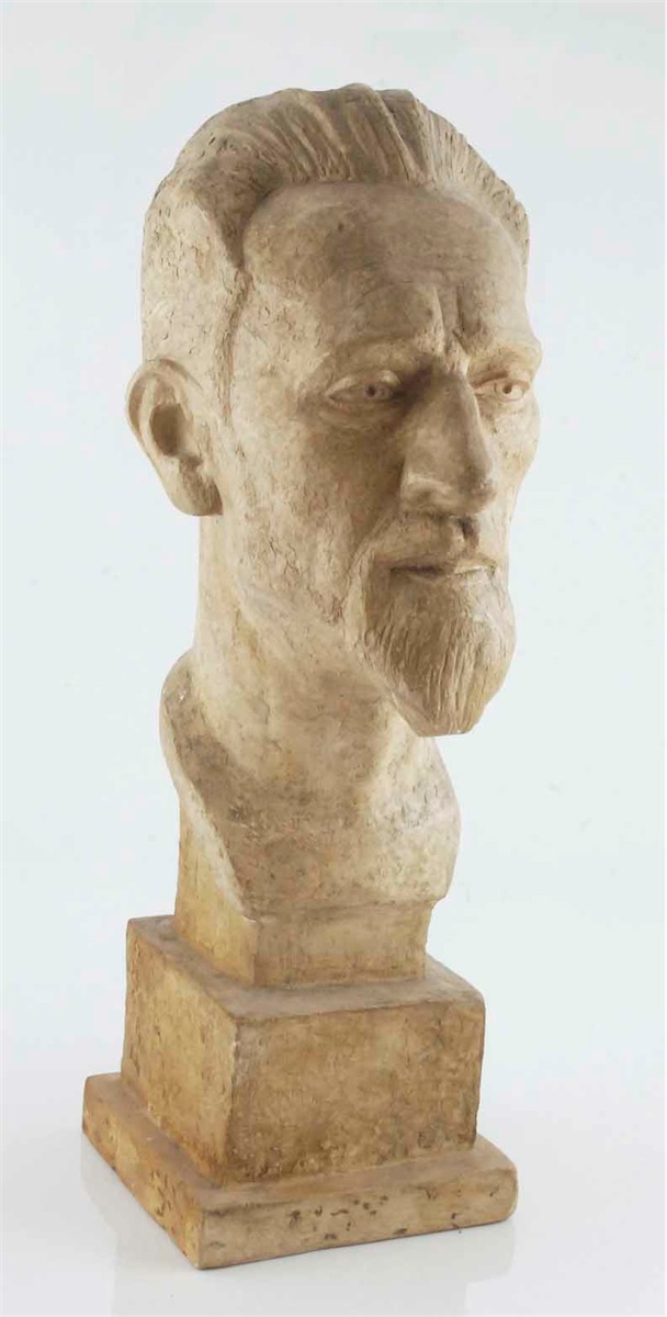 Głowa męska, 1956