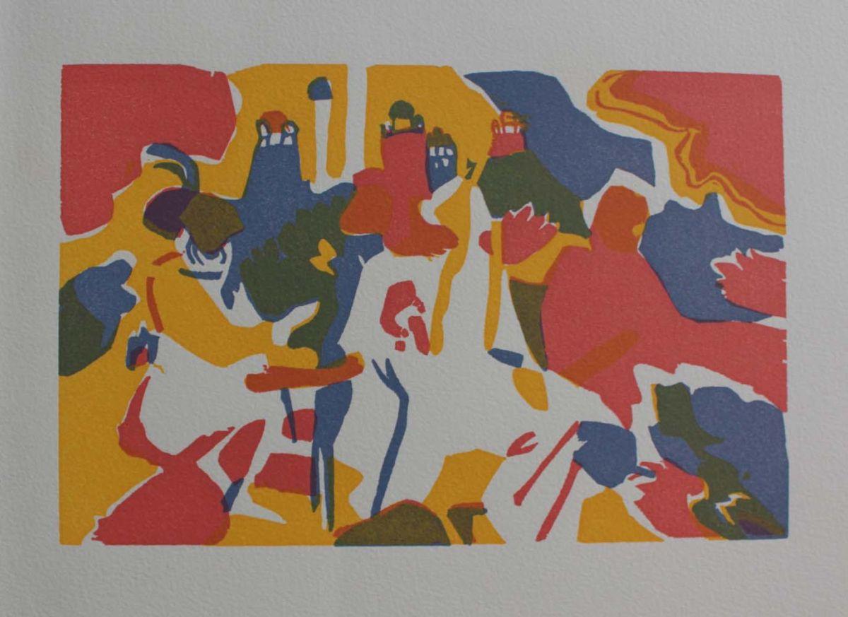 Orientalisches (z Hommage ŕ Wassily Kandinsky. XXčme Sičcle, 1974)