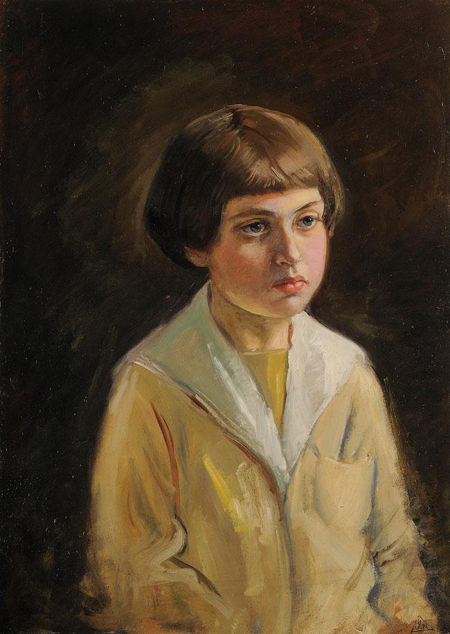 PORTRET CHŁOPCA, ok. 1930
