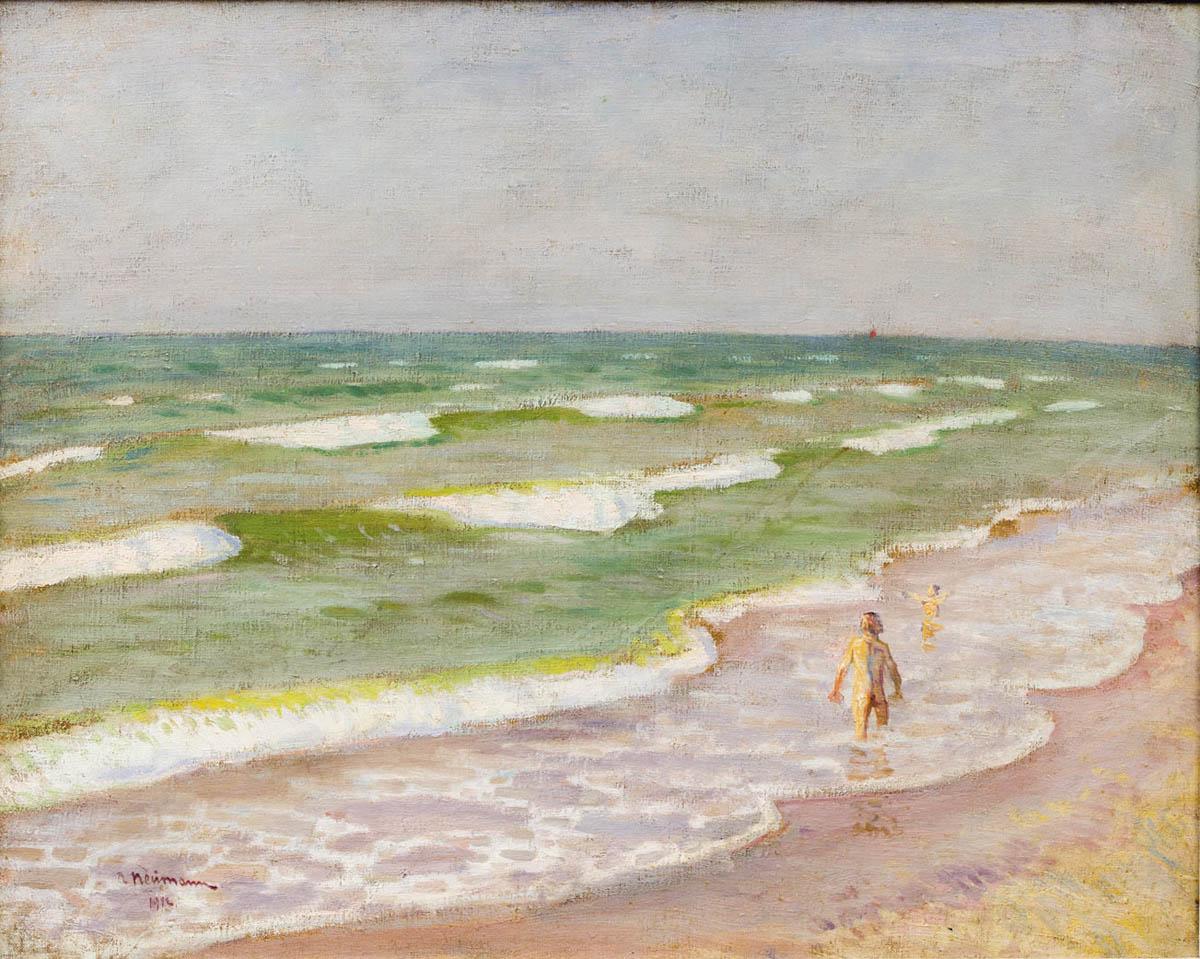 Kąpiące się, 1912 r.