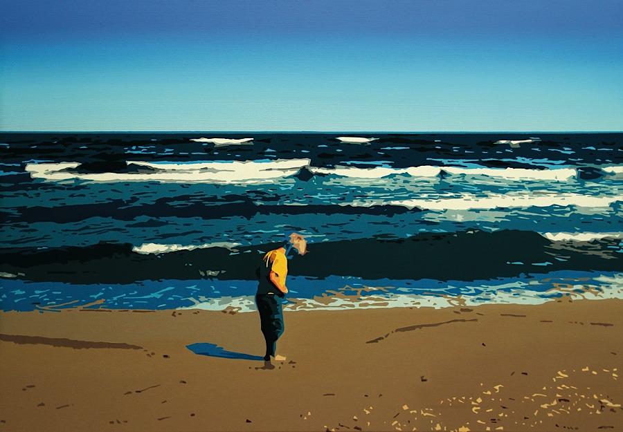 Plaża, 2014