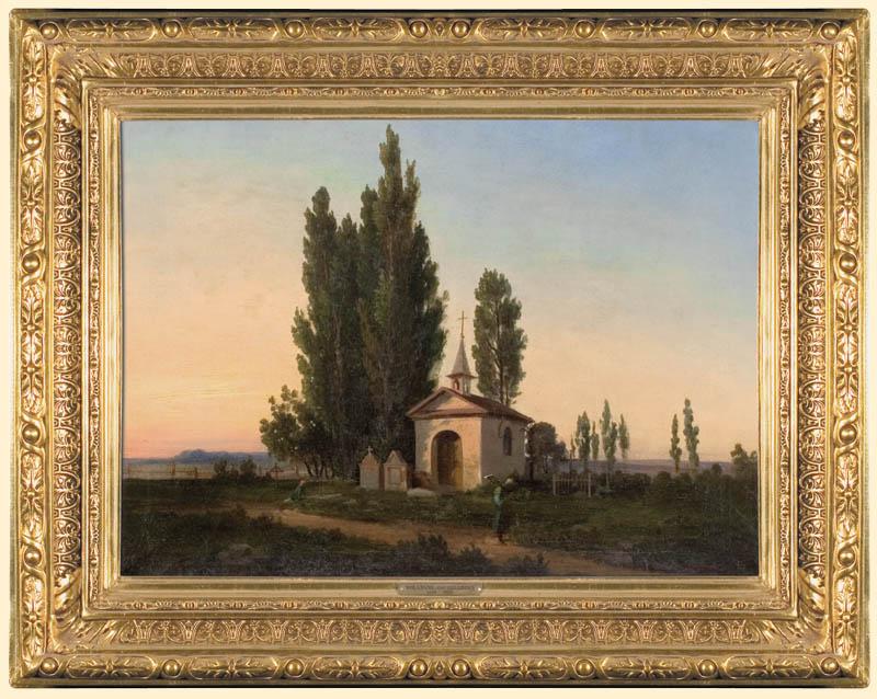 PEJZAŻ Z KAPLICZKź, przed 1869