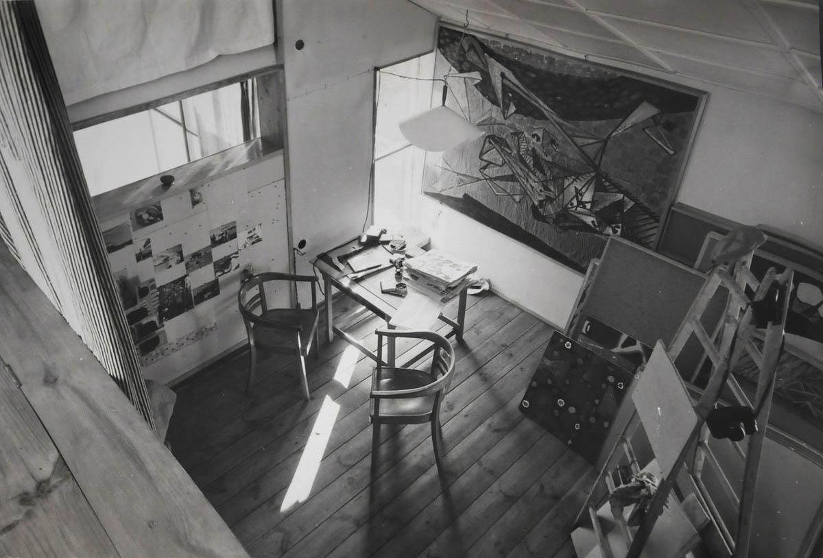 Mieszkanie własne przy ulicy Sędziowskiej wg. Projektu Zofii i Oskara Hansenów, 1954