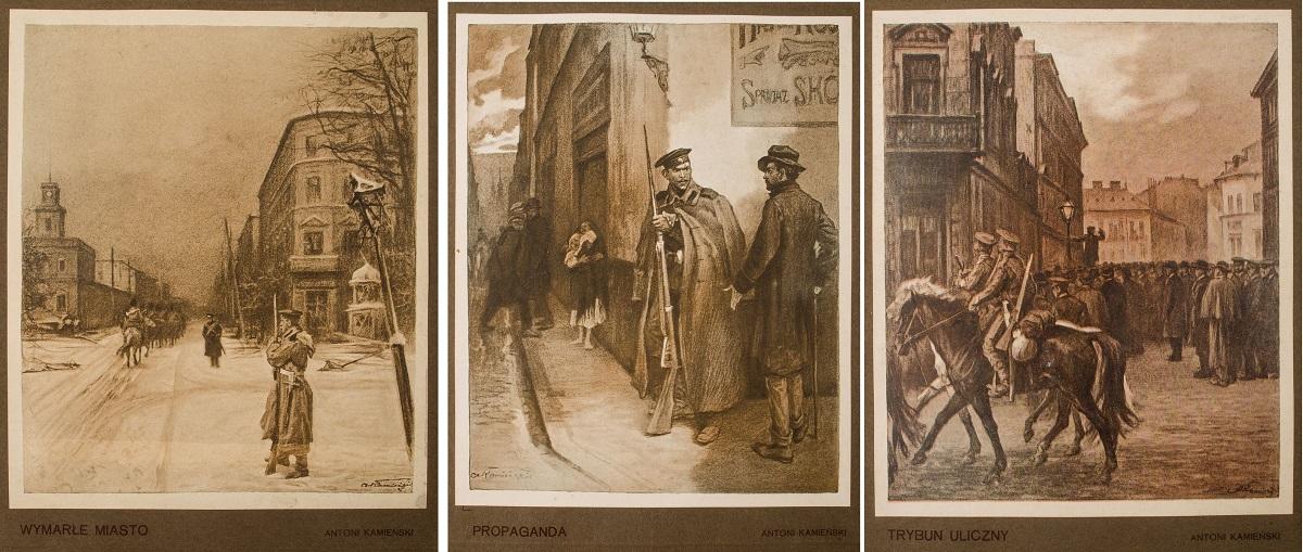 DUCH - REWOLUCYONISTA. SZKICE Z LAT MINIONYCH 1905 - 1907, 1908