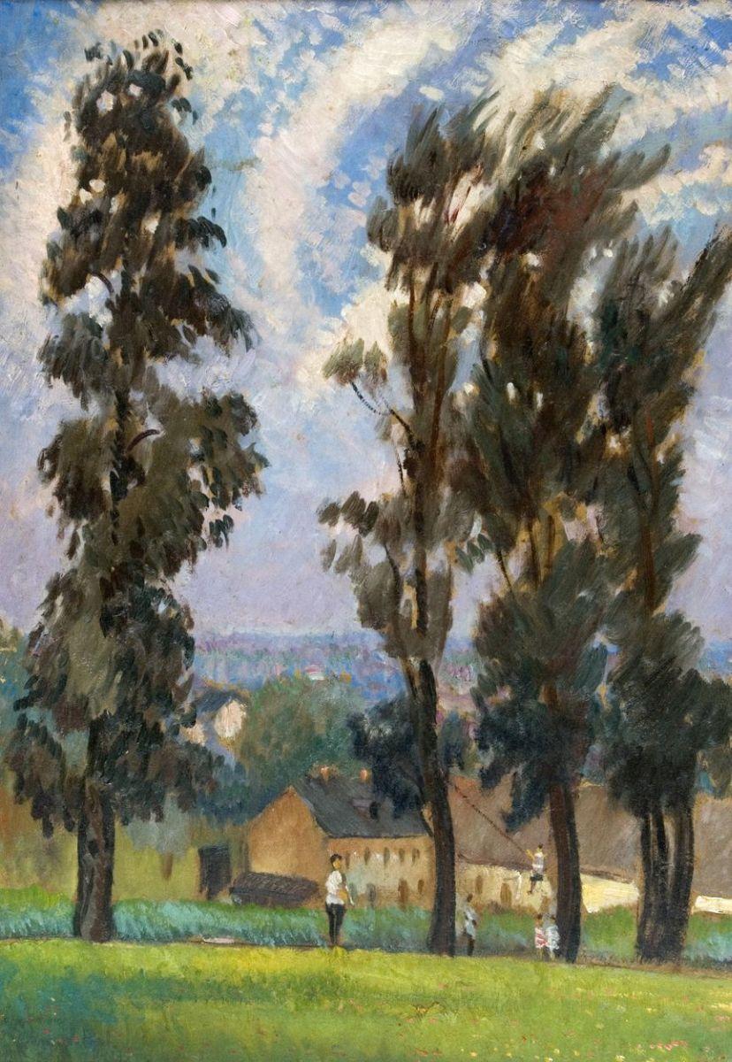 PEJZAŻ, 1929