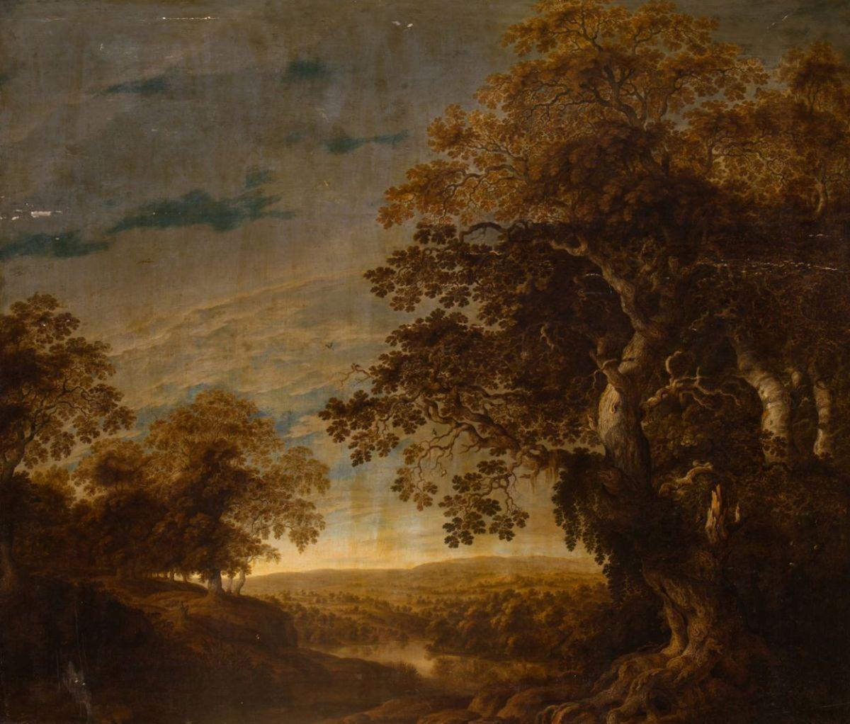 WIDOK NA DOLINĘ OD STRONY STAREGO LASU, 1640 - 1645