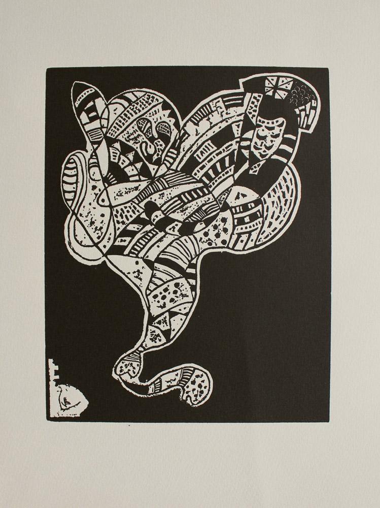 10 Origin (z Hommage à Wassily Kandinsky. XXème Siècle, 1974)