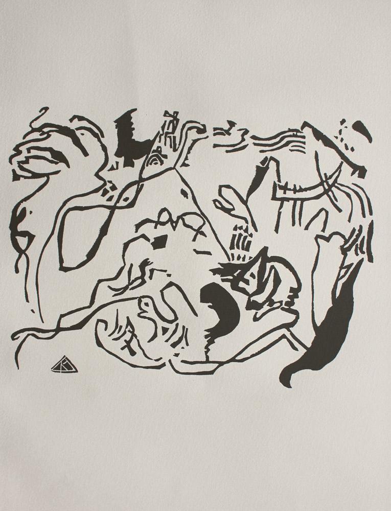 Sąd Ostateczny (z Hommage a Wassily Kandinsky. XXeme Siecle, 1974)