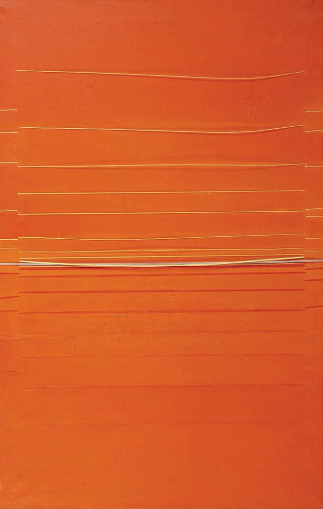 Kompozycja pomarańczowa,1966