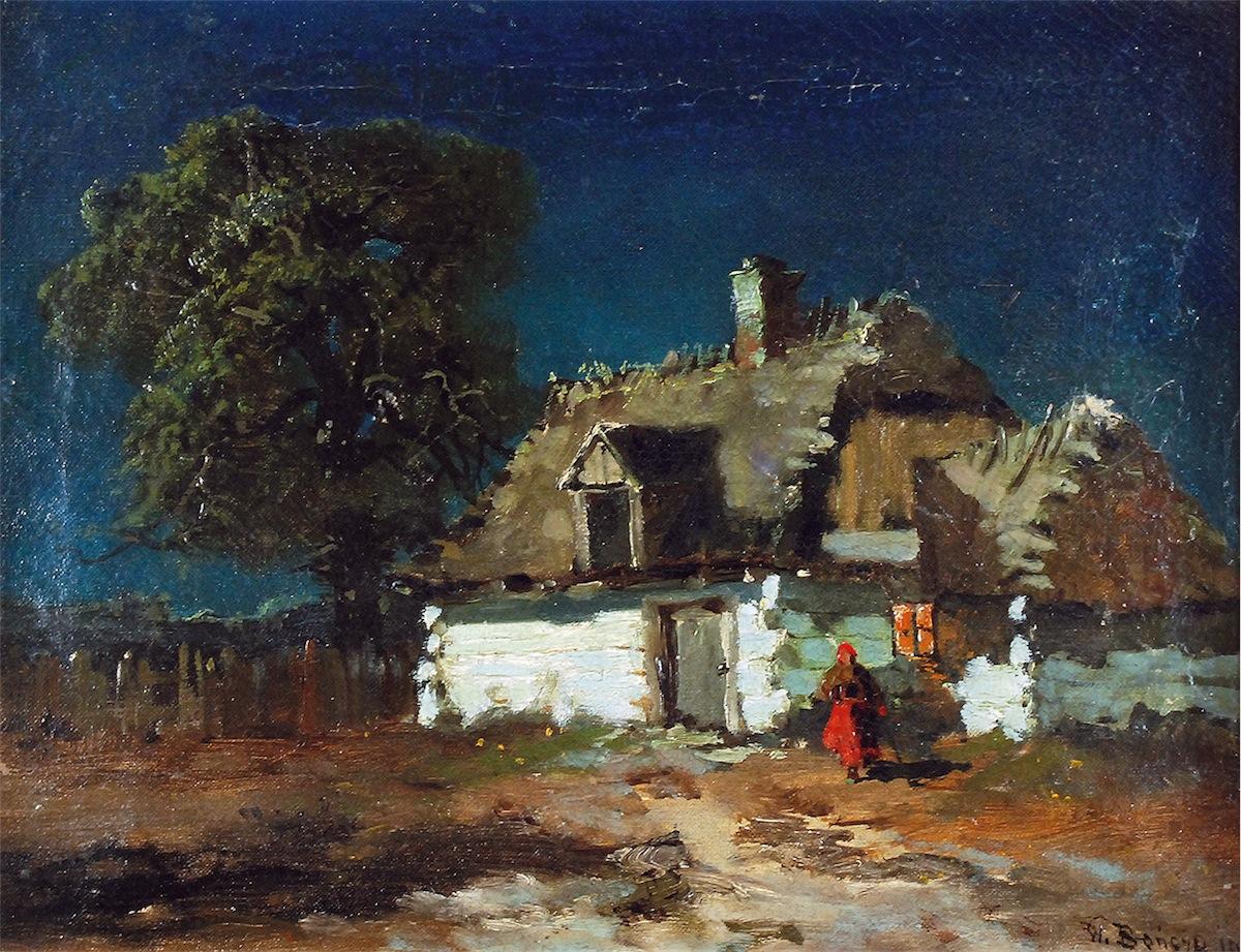 Wiejska chata, 1902