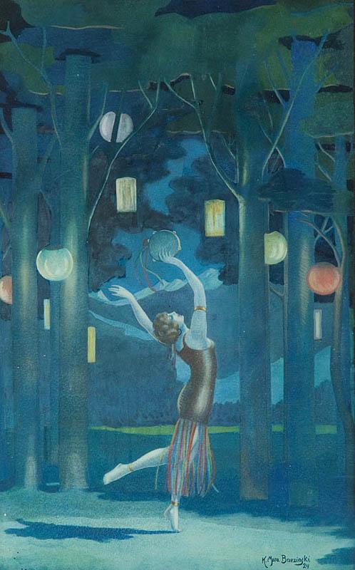 Taniec pod lampionami, 1924 r.