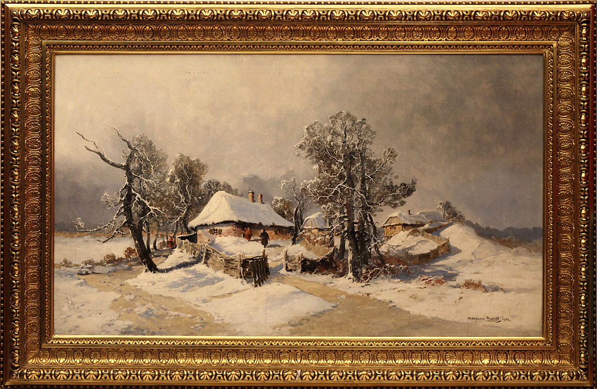 Zima, 1903 r.