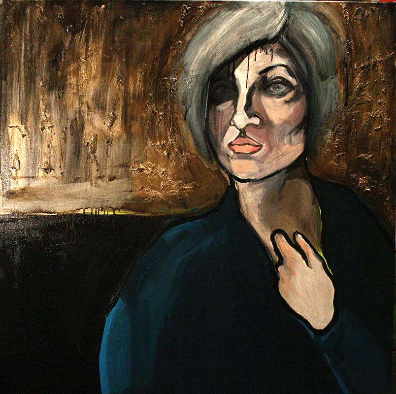 Portret turkusowy, 2012