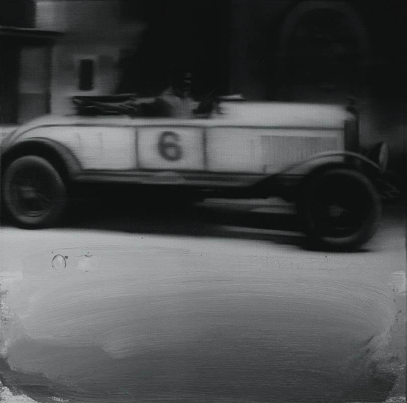Bez tytułu 4, z cyklu: Retro Cars Racing, 2012