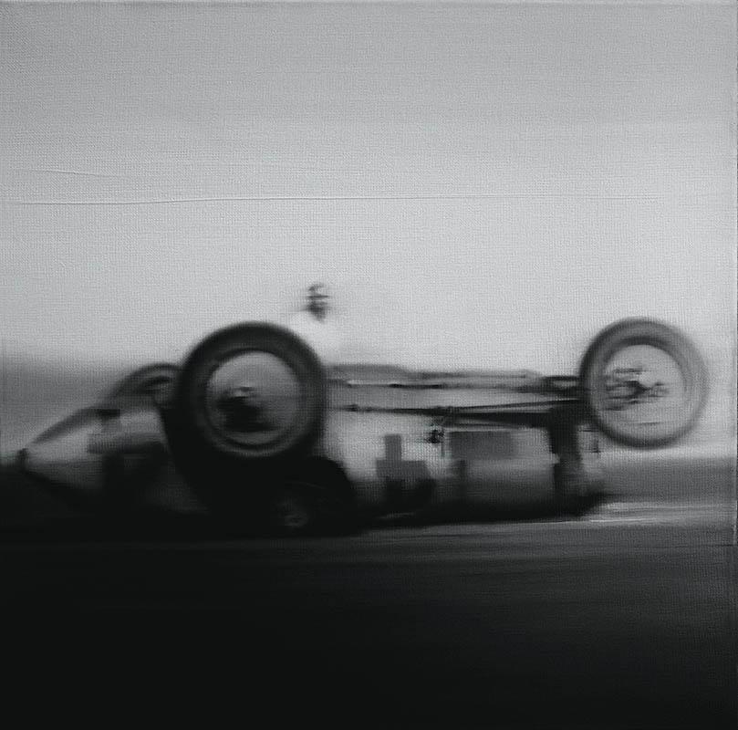 Bez tytułu 3, z cyklu: Retro Cars Racing, 2012