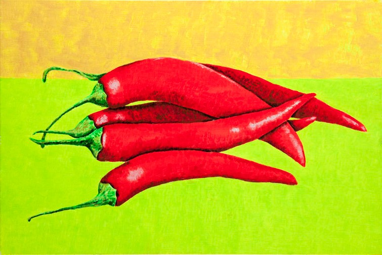 Hot Peppers 1, 2013 r.