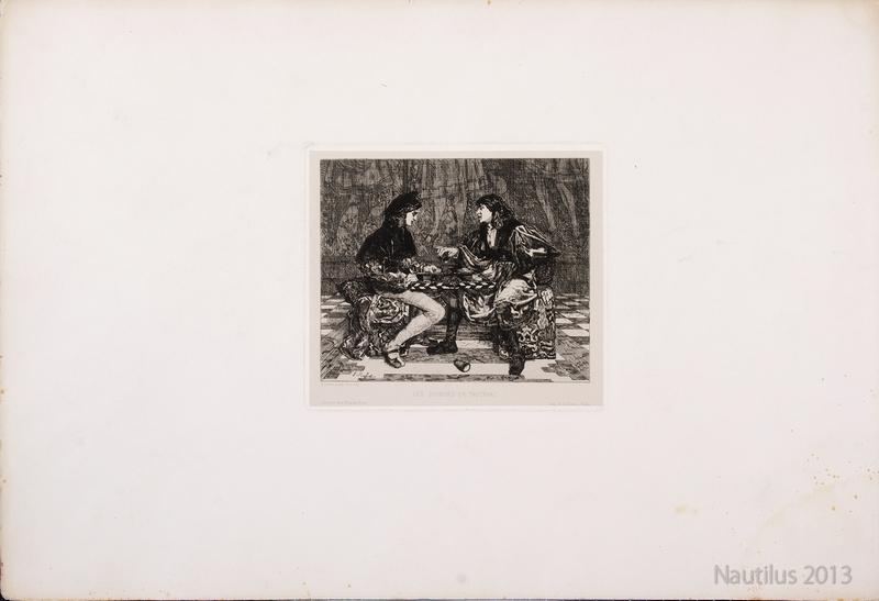 Les Joueurs de Tric-Trac [Gracze w Tric Traca], 1868