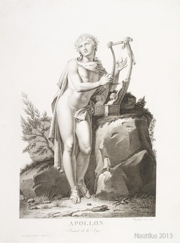 Apollon [Apollo grający na lirze], przed 1810