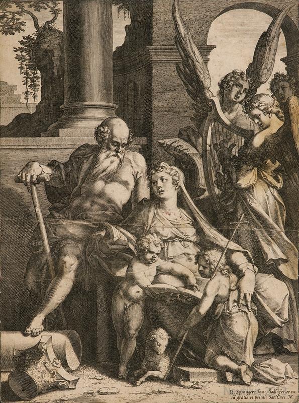 Święta Rodzina z Janem Chrzcicielem, 1581