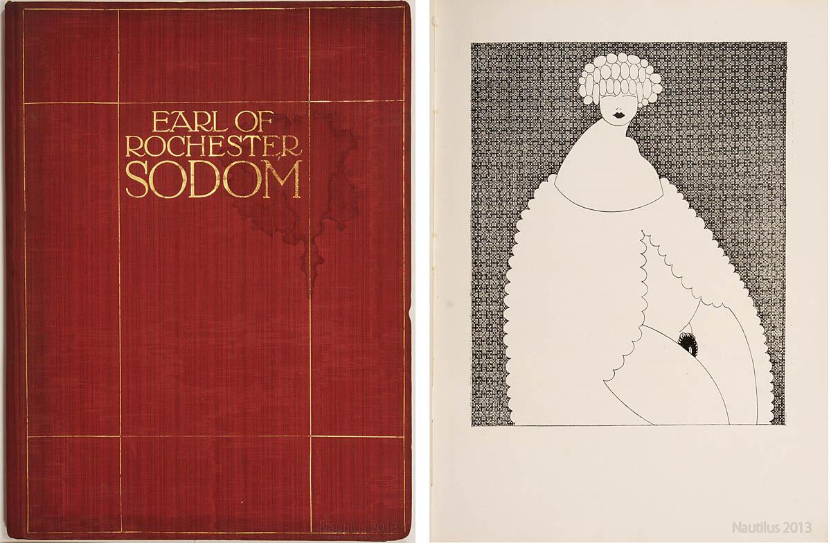 [John Wilmot] Earl of Rochester, Sodom. Ein Spiel, 1909 (il. s. 16)