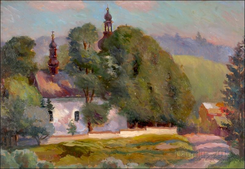 Kościółek w Sidzinie pod Jordanowem, lata 30.