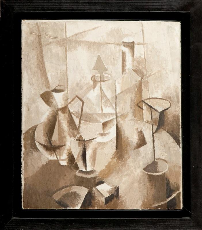 Martwa natura kubistyczna, 1953-54 r.