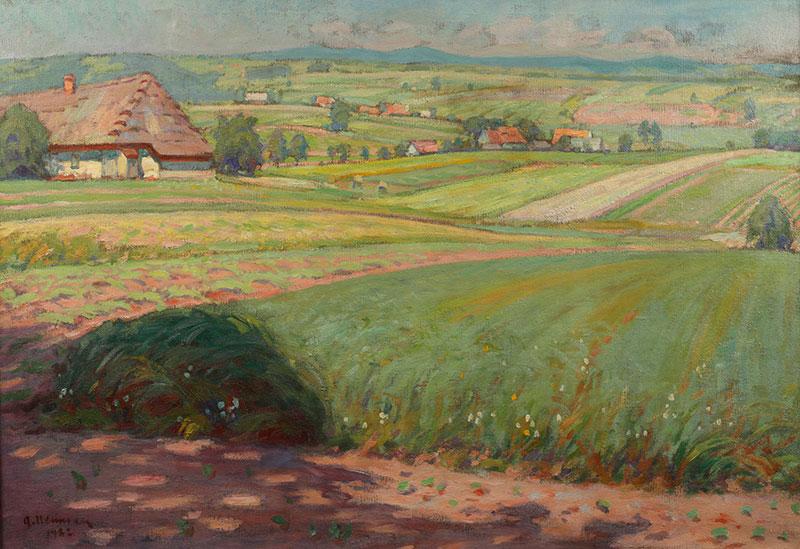 Pejzaż letni, 1922 r.