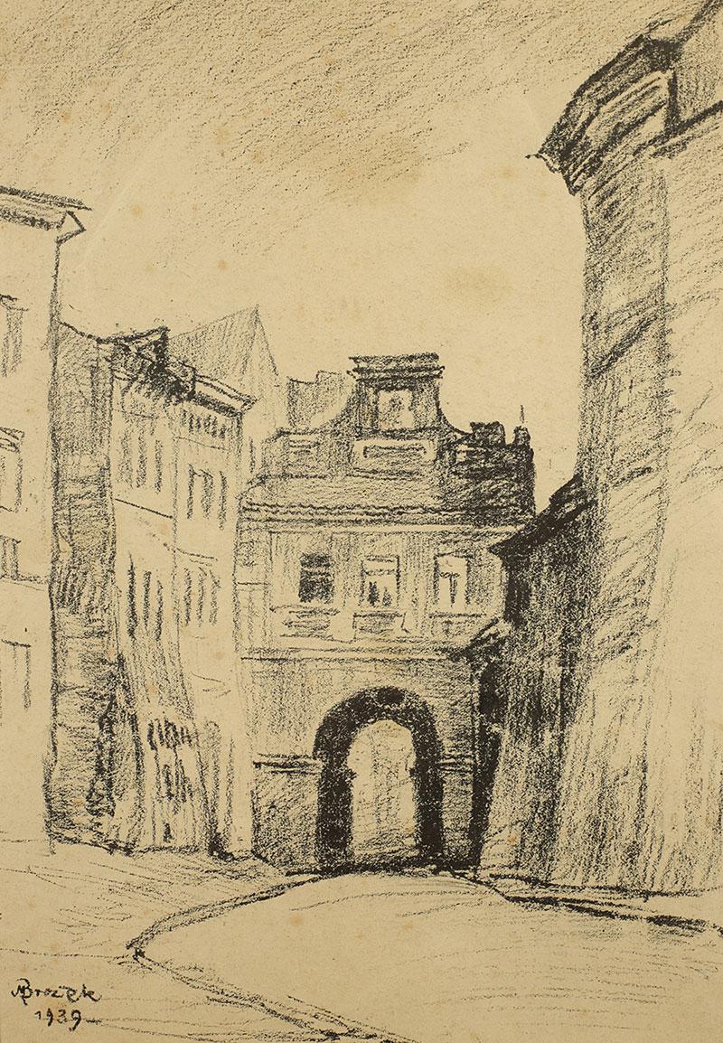 Brama Grodzka w Lublinie, 1939 r.