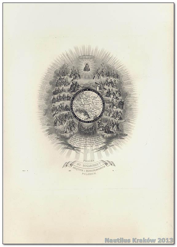 Prośba do Bogarodzicy, Świętych i Błogosławionych Polskich, 1867