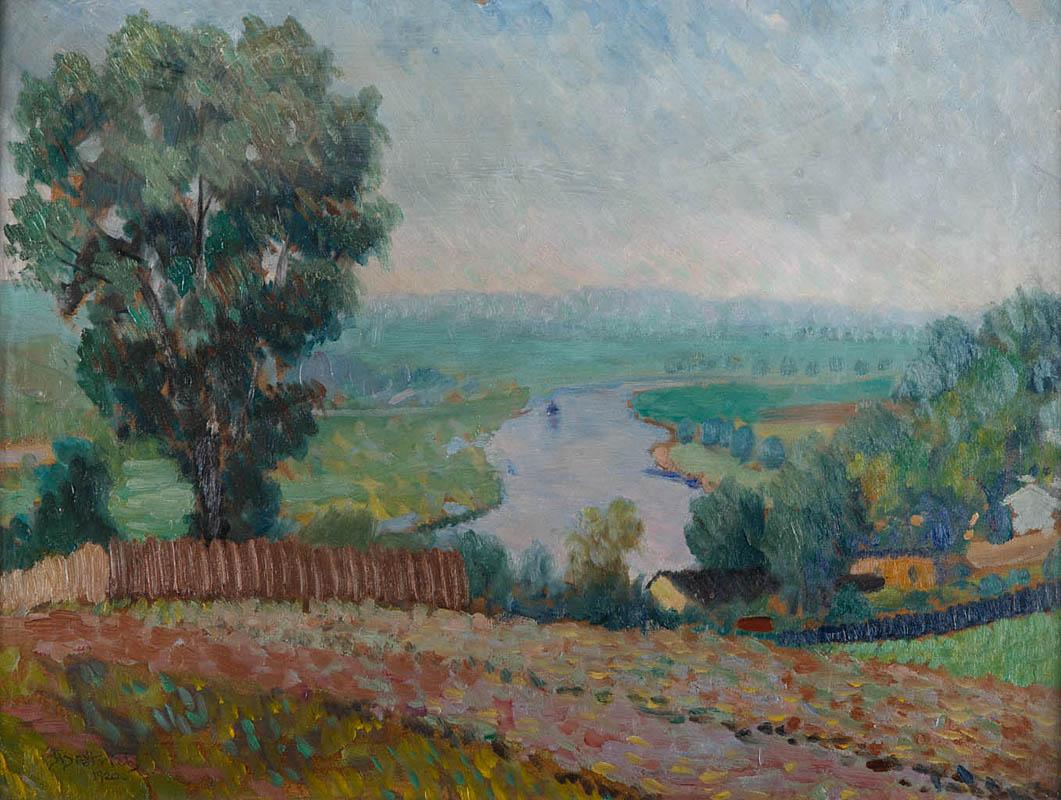 Pejzaż z drogą, 1920