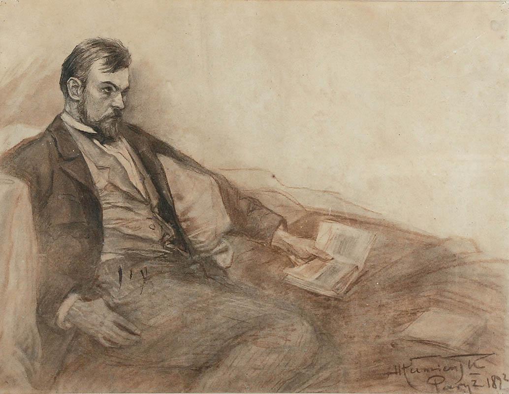 Portret Konstantego Laszczki, 1892