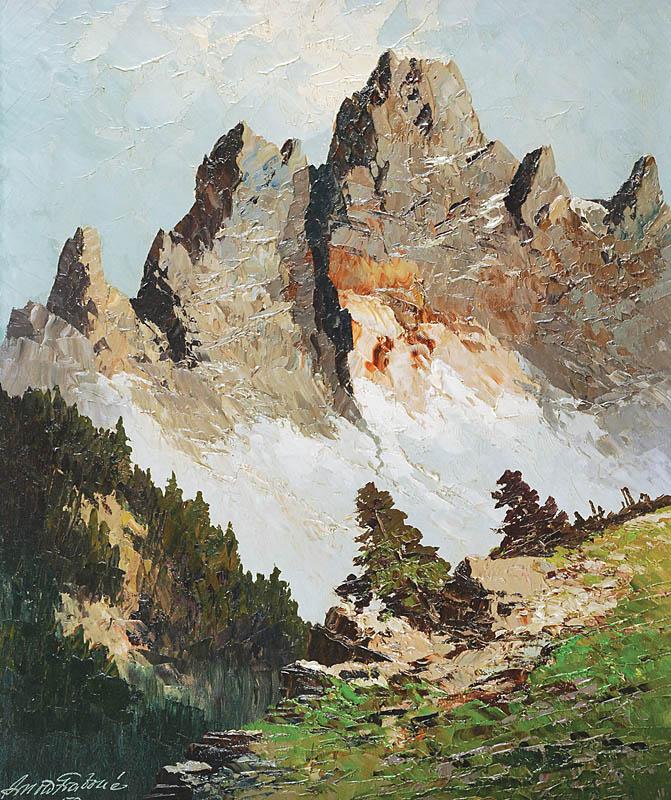 Pejzaż górski, 1958