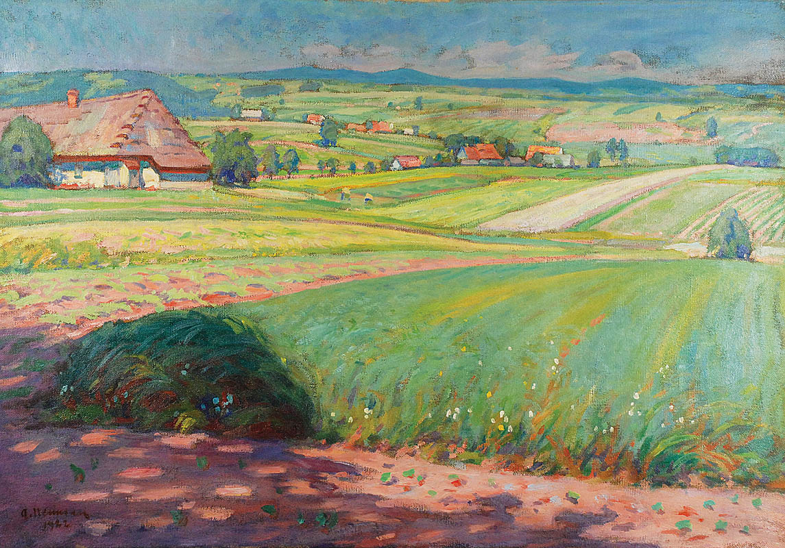 Pejzaż letni, 1922