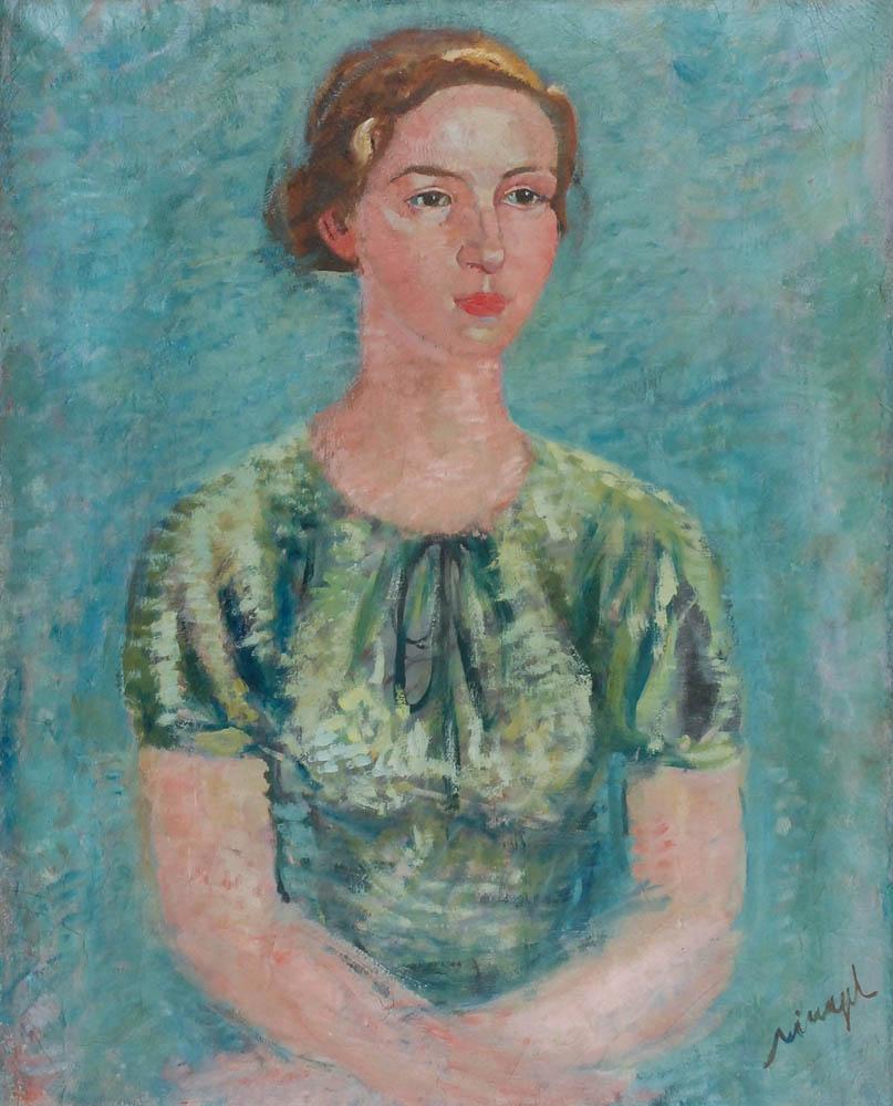 Portret żony artysty