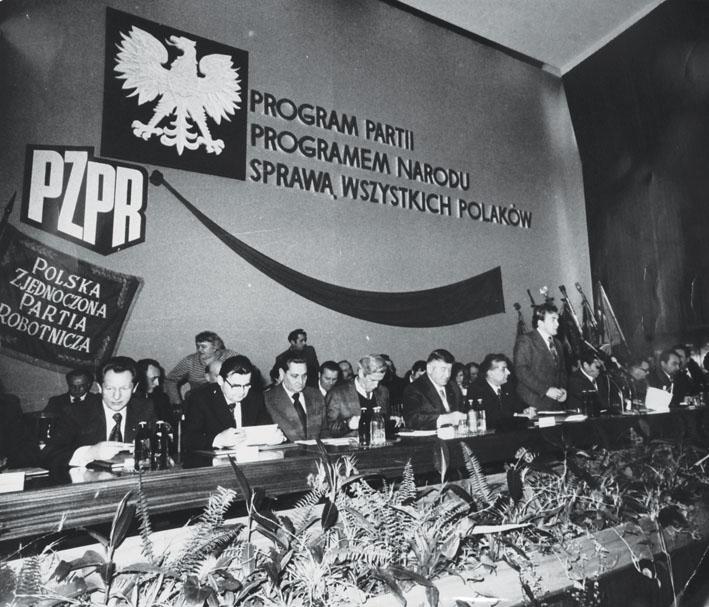 Zjazd PZPR