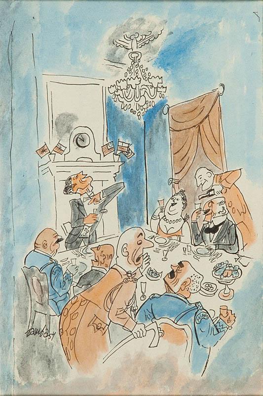 Emigracja - Londyńczycy, 1954 r.