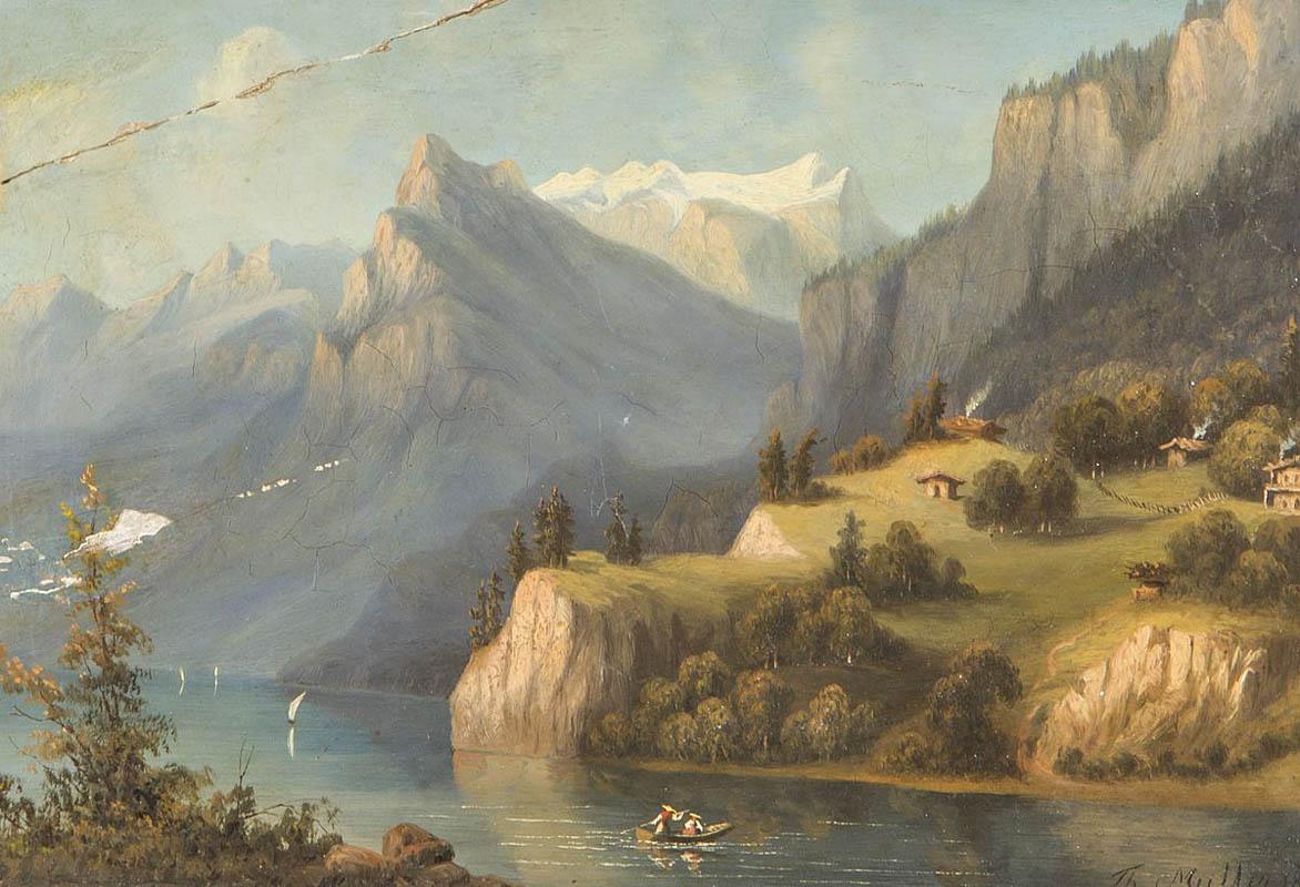 PEJZAŻ GÓRSKI, 1863