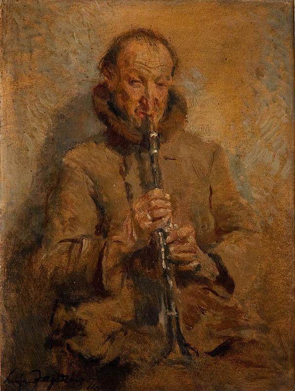 Człowiek z klarnetem, 1944 r.