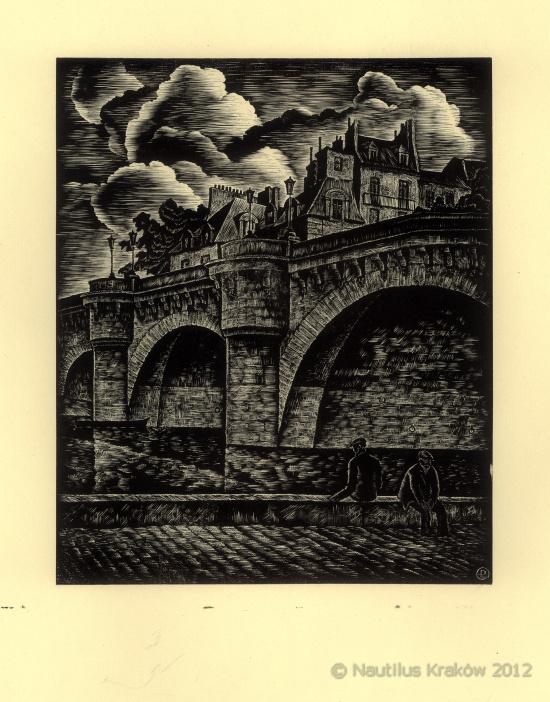 Paryż. Pont Neuf, 1936