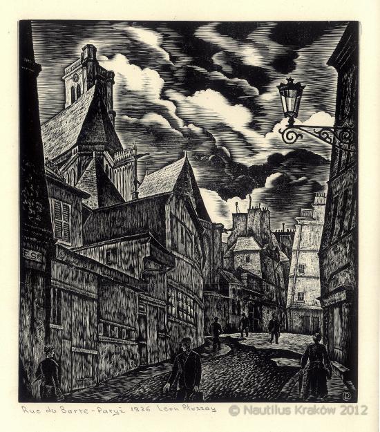 Paryż. Rue du Barte, 1936