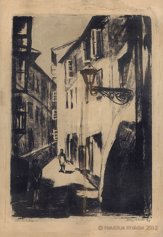 Zaułek, 1938