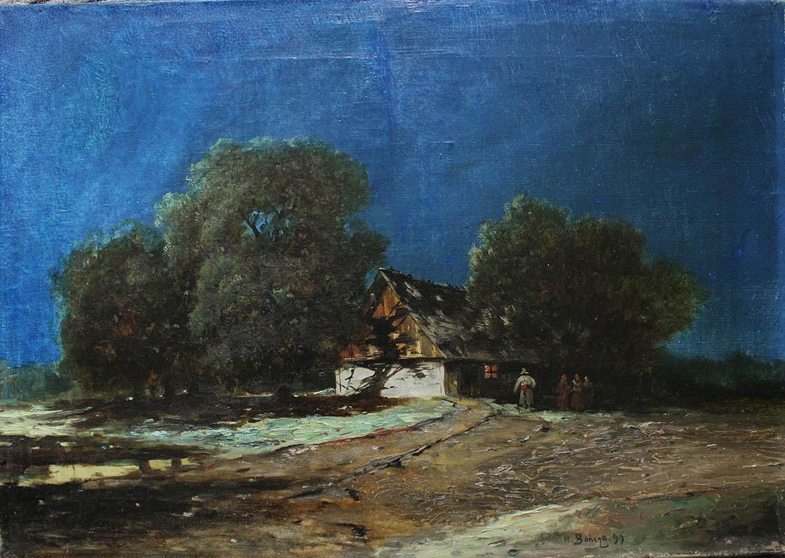 Przed chatą (1899)
