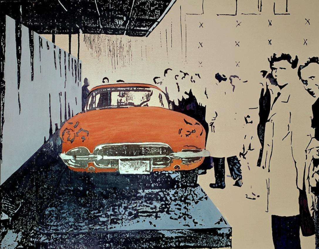 Pomarańczowe auto, 2004