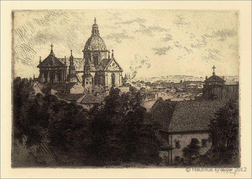 Kraków. Kościół śś. Piotra i Pawła, ok. 1916