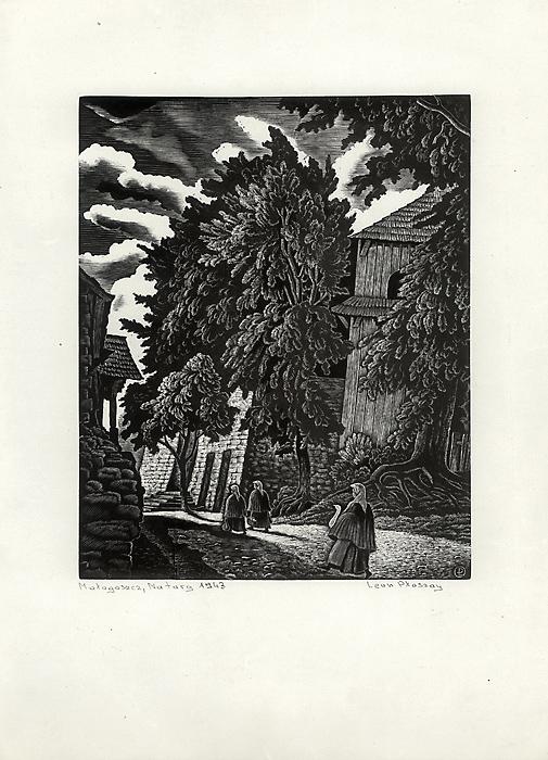 Małogoszcz. Na targ, 1943