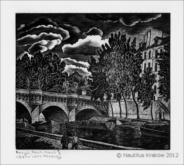 Paryż. Pont-Neuf I, 1938