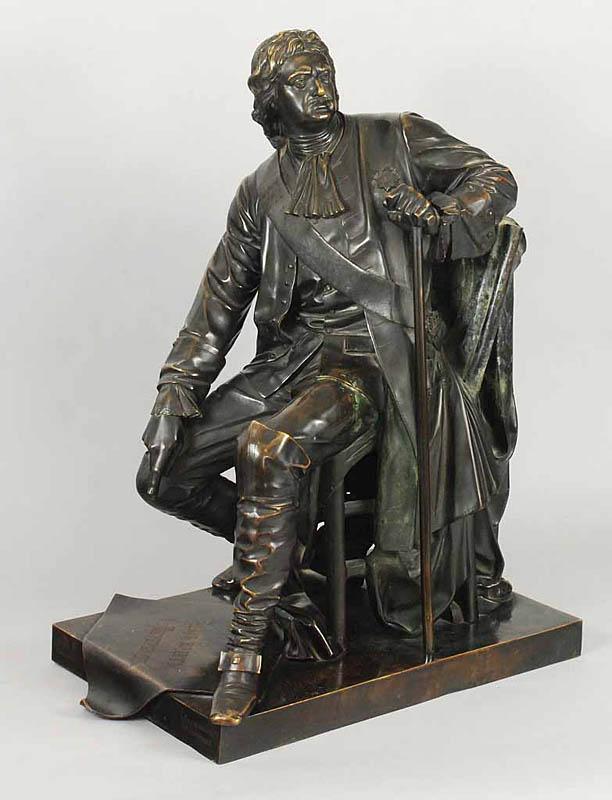 Model pomnika Piotra Wielkiego dla Petersburga, 1872 r.