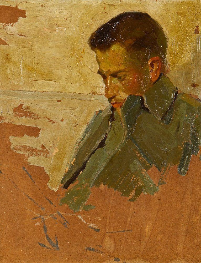 SZKIC PORTRETOWY, 1911